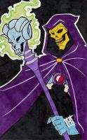 80s BADASS SKELETOR by emptypromises13
