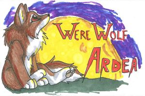 Werewolf Ardea Badge by CaptainMorwen