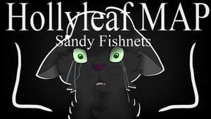 Sandy Fishnets - Hollyleaf MAP|| Warrior Cats OPEN by Elizakitcat