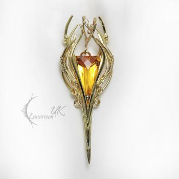 IMEELIARX  - 18Ct Yellow Gold and  Citrine by LUNARIEEN