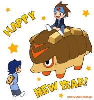 Happy New Year 2007 by hinatsu