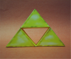 Triforce Papercraft by sgonzales22