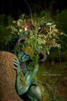 Tree Girl by andrewishy