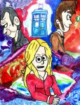 Rose and her Doctors by SonicClone