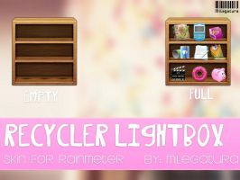 Recycler LigthBox.~ by Milegatura