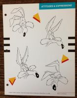 Wile E Coyote Expressions by guibor