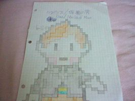 Claus/Masked Man sprite ON PAPER by Lucaslover89