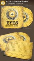 Eyes Fixed on Jesus CD Artwork Template by loswl