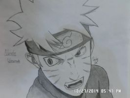Naruto pissed by MasashiRaiden