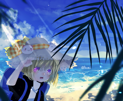 to the beach by temiji