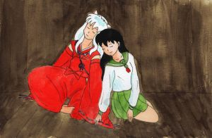 Inuyasha and Kagome - Dream by mene