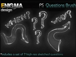 Sketched Questions by Enigma-Design