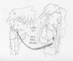 More Jou abuse by rika-chan