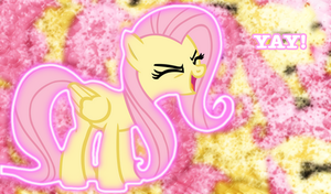 "Fluttershy ""Yay"" Background by Cloud-Twister"