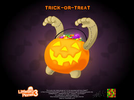 Trick-or-Treat! - Little Toggle by Thykothaken