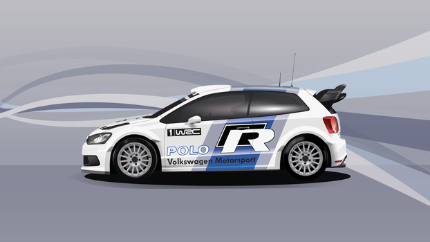 Polo WRC 2011 (Vector Art) Wallpaper by EM3DI