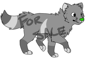 Wolf Adoptable by MikeyOpossum