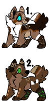 Pups to =Kaes-Loveable-Adopts by MichelsAdoptions