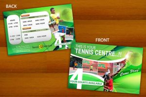 Tennis jamaica flyer by yanic