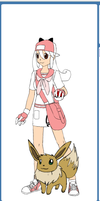 my anime OC in pokemon by Rarer4ever