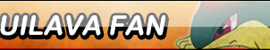 Quilava Fan Button (Request) by Kyuubi-DemonFox