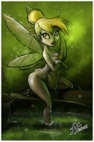 Tinkerbell art jam sketch2 by 14-bis