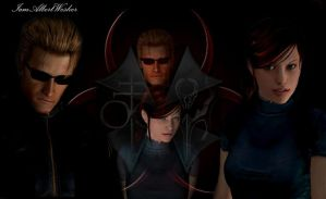 Wesker and Claire - Corruption by IamAlbertWesker