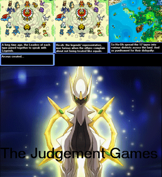 Judgement Games Pg.1 by Pokecomicnewb
