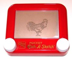 Etch a Sketch- Chicken by jivu