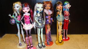 My Monster High collection by DramaDollLover