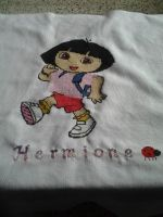 Cross stitch Dora the Explorer by Nenetchy