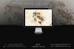150th Unification of Italy by y2jhbkfan