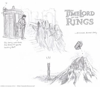 TimeLord of the Rings sketches by Saimain