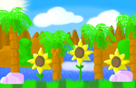 Green hill zone by SonicInflateStation