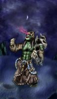 Orc shaman by Deadguybeer