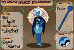 Turquoise Empire App - Blue Agate by rasprerry