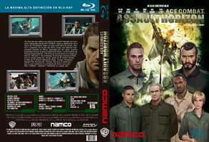 Ace Combat Assault Horizon movie blu-ray cover by Rankakiu