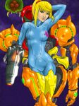 Samus Exposed Colored by AIBryce