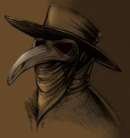Plague Doctor by SueWithers