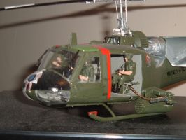 huey gunship by SKEGGY