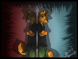 The dark side of me by WolfKendo