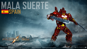 Mala Suerte, Spain's Mark-4 Jaeger. by HotaruKagurazaka