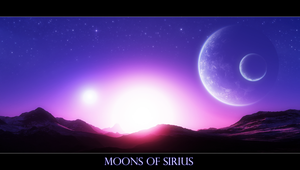 Moons over Sirius by Wetbanana