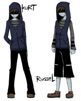 Kurt and Russel EDITED 2 by artisticApparition