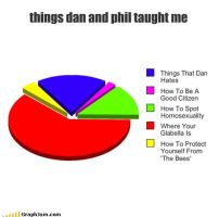 Things Dan And Phil Have Taught Me by AngelsxMadeFromNeon