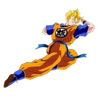 Future Gohan Super Saiyan by Dark-Crawler