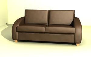 Leather Couch by R-GT