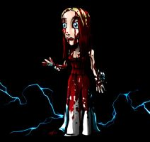 SD Carrie White by DeTinteyLengua