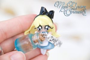 Alice and ' Drink Me ' Bottle by IvrinielsArtNCosplay