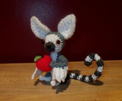 Winged Lemur Amigurumi by SilverTwilight05